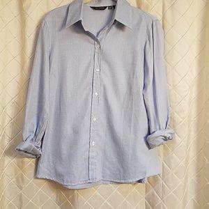 Zara's long sleeve women's button-up blouse XL